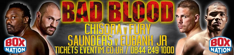 bad blood boxing fury chisora