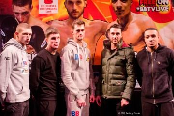 Black Flash Promo Presser Pics Jan 15 Manchester Boxers
