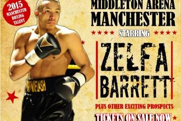 zelfa barrett fight poster
