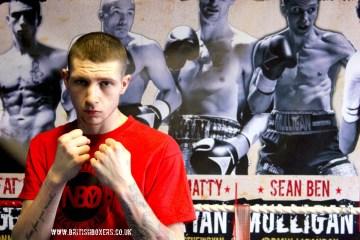 Fat Boy Chris Monaghan boxer