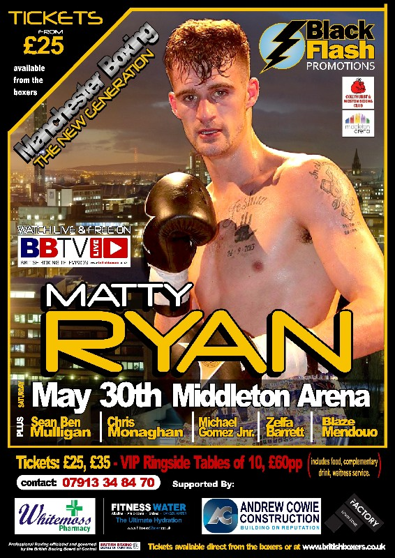 Matthew Ryan fight poster