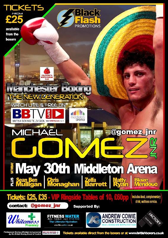 Michael Gomez Jnr May 30