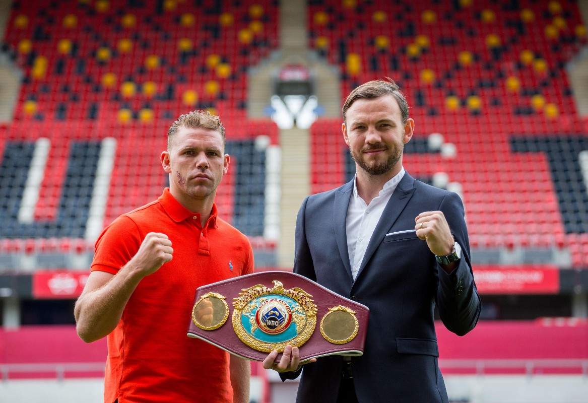 Saunders/Lee postponed for Manchester date