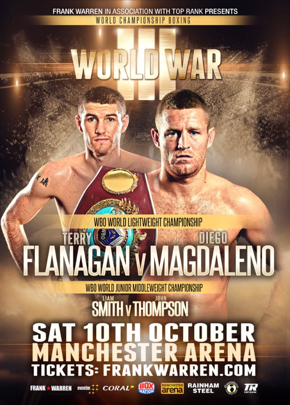 flanagan and smith boxing manchester world titles