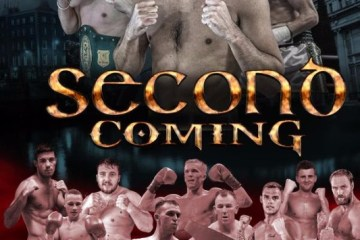 second coming boxing poster
