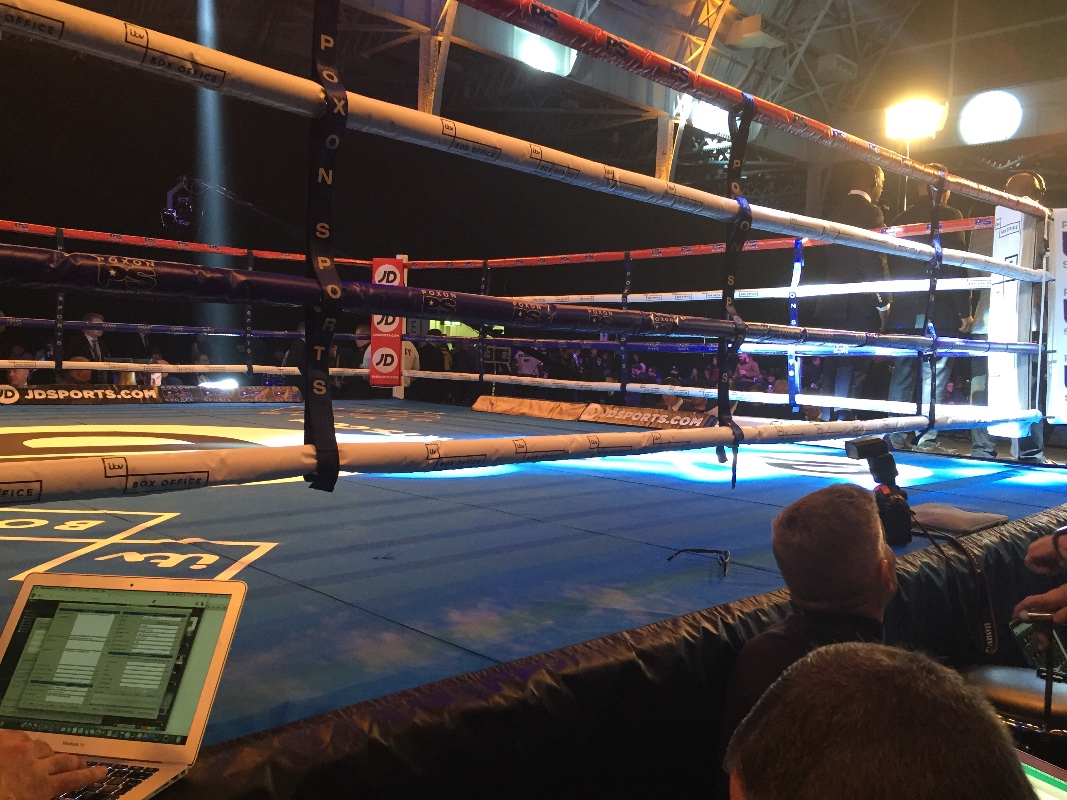 olympia boxing ring