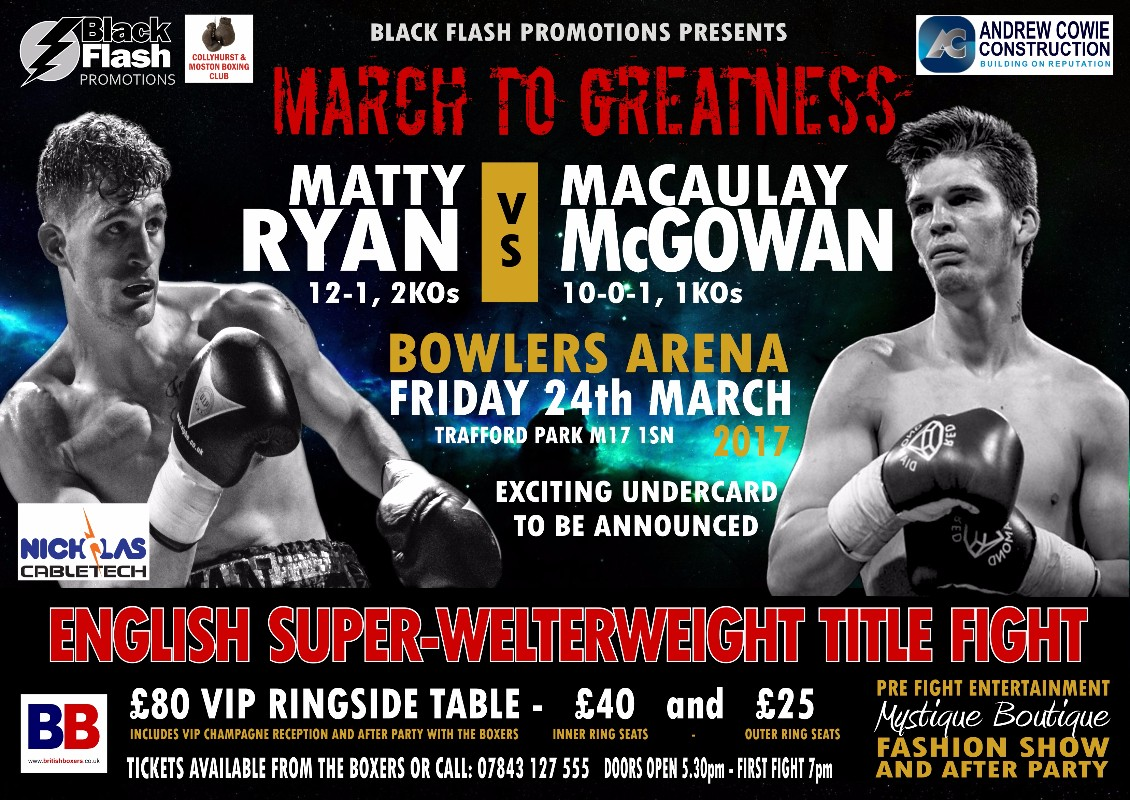 VIDEO: IN CAMP PREVIEW: Matty Ryan Vs Macaulay McGowan March 24th
