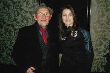 Tommy Dix with Katie Taylor
