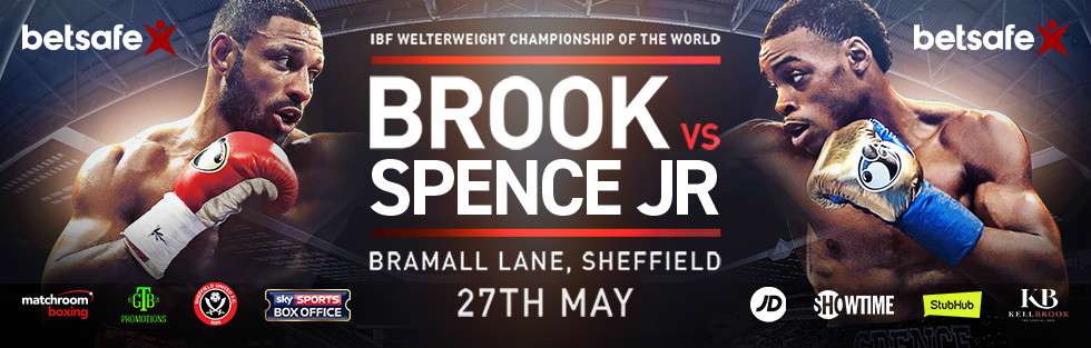 Brook-Spence Jr: Sheffield fight running order, times, weight (Pics from weigh-in)