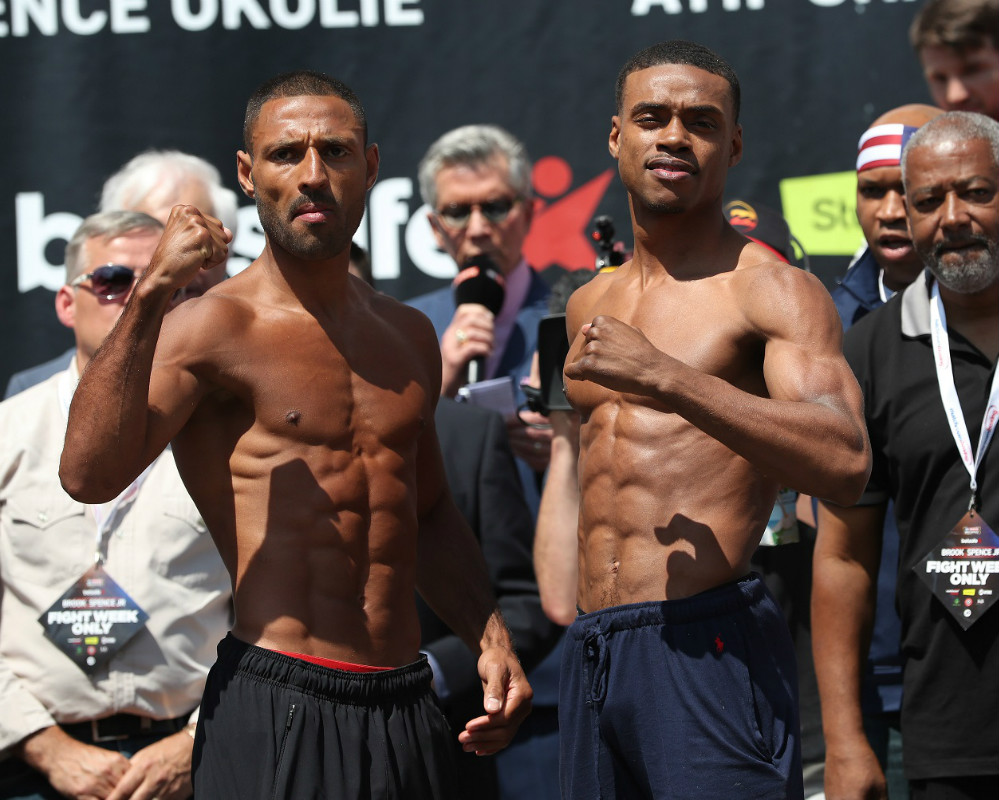 Walker's Crisp: Kell Brook quit against Spence