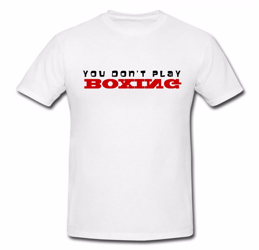 You Can T Play Boxing Shirt: British Boxing BBTV