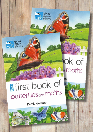 RSPB First Book of Butterflies and Moths