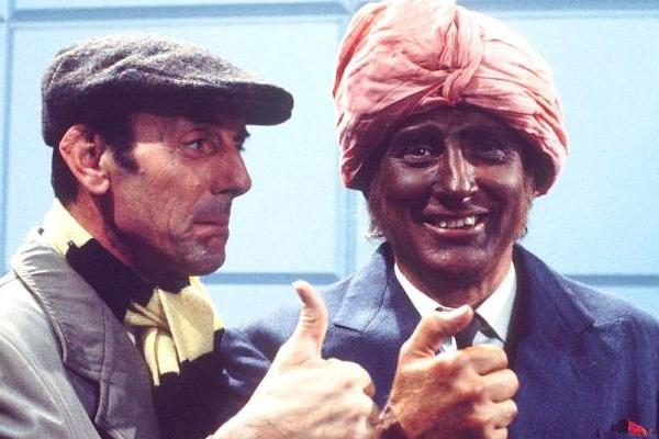 eric sykes and spike milligan star in curry and chips