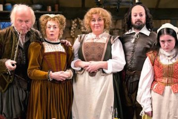 David Mitchell stars in Ben Elton's comedy upstart crow