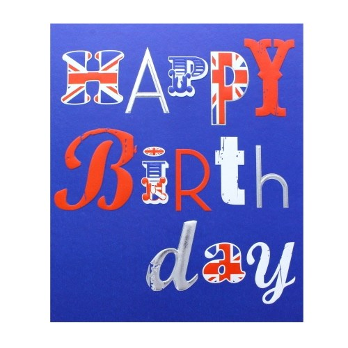 Happy Birthday Union Jack Out Of Stock