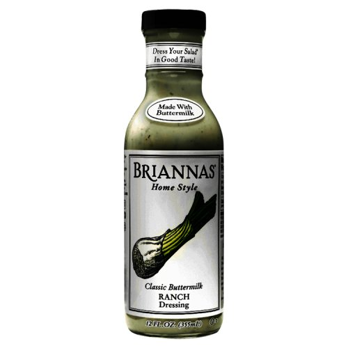 Briannas Ranch Dressing Salad Dressings
