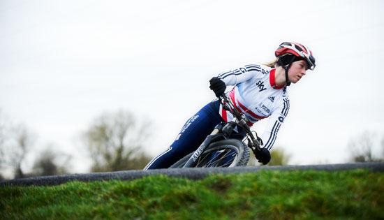 Great Britain's Alice Barnes finished 21st at round four of the UCI Mountain Bike World Cup