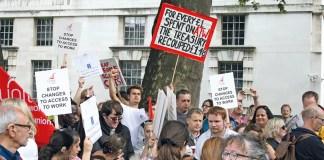 march protestors