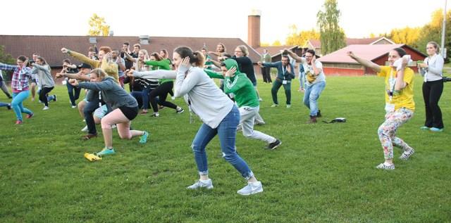 eudy youth camp activity