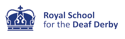 Royal School for the Deaf Derby - logo