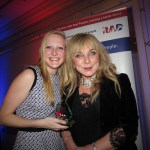 Receiving a Highly Commended Young Person's Award at the RAD Awards