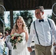 Wedding Natalie & Doug at Chateau Douzens