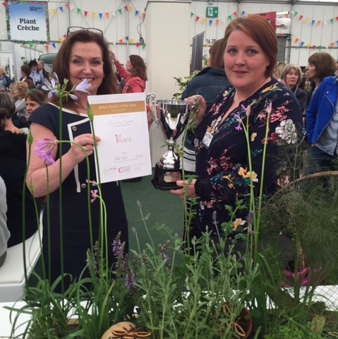 BBC gardeners world caroline crabb winner of British florist with eflorist