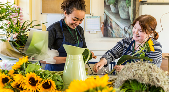 Shuttleworth college floristry courses