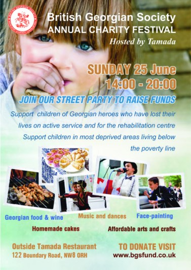 Second Annual Charity Festival hosted by Tamada on 25 June