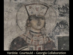 Queen Tamar at Vardzia from 1184-86