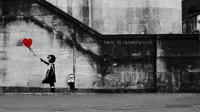 Banksy - Girl And Balloon