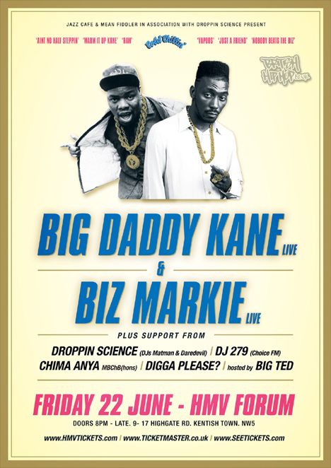 Big Daddy Kane And Biz Markie Live In London 22nd June 2012