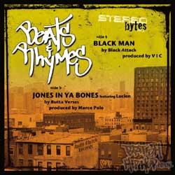 Black Attack - Black Man / Butta Verses Jones In Ya Bones CD [Audio Clutch]