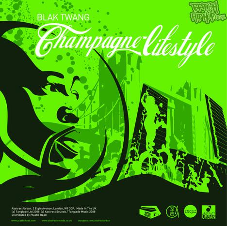 """Blak Twang - Champagne Lifestyle 12"""" [Blaktwang.net]"""