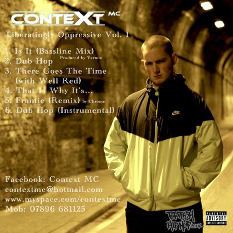Context MC - Liberatingly Oppressive Volume 1 CD [White]