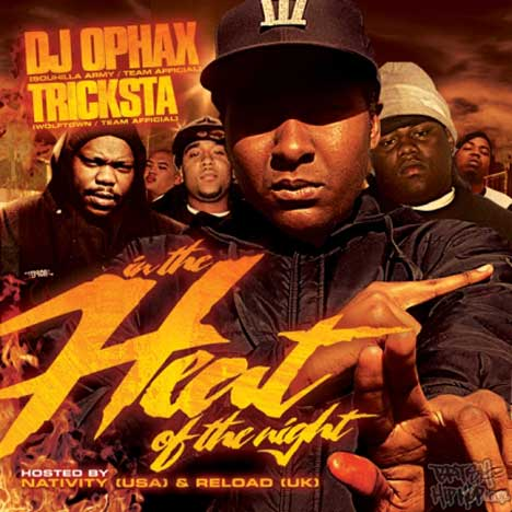 DJ Ophax & Tricksta Present - In The Heat Of The Night (Hosted by Nativity & Reload) CD [Wolftown]
