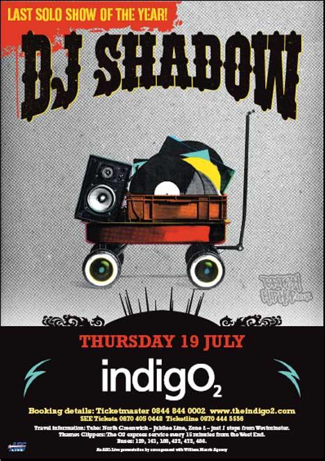 DJ Shadow Set To Perform At Indigo2