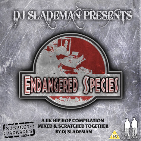 DJ Slademan - Endangered Species LP [Suspect Packages]