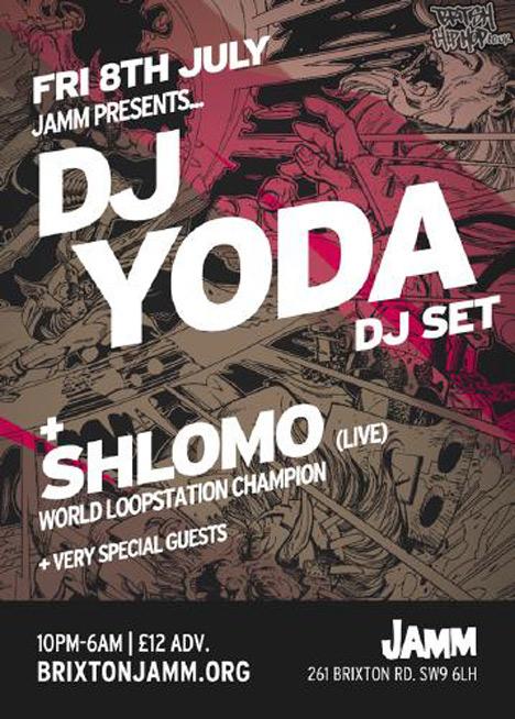 Jamm Presents... DJ Yoda + Shlomo Live