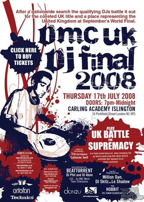 DMC UK DJ Championships 2008