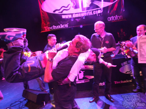 The winner DJ Rafik