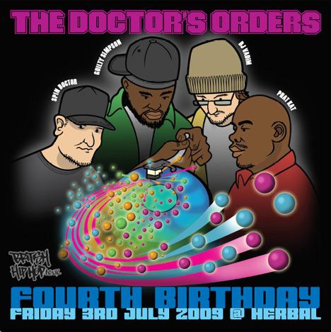 Doctors Orders - 4th Birthday Mix [Audio]
