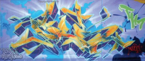 Graffiti Planet complied and introduced by KET [Michael O'Mara Books]