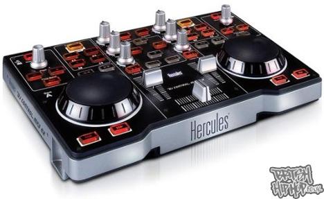 Hercules Unveils The DJ Control Mp3e2