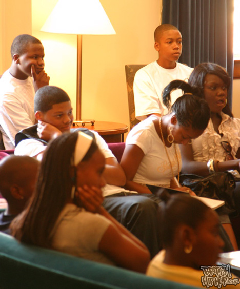 2008 Hip Hop Leaders Mentor Session