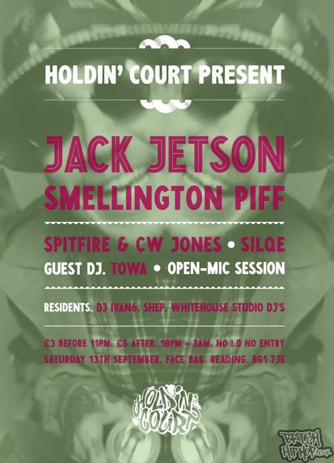 Holdin' Court Reading 13th September