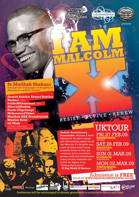 I Am Malcolm X Tour