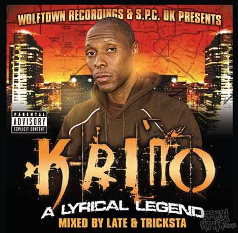 K-Rino - A Lyrical Legend (Mixed By Late & Tricksta) CD [Wolftown & S.P.C UK]