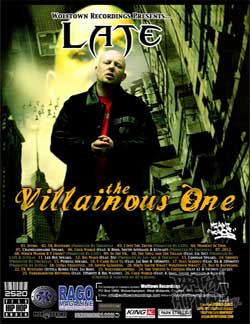 Late - The Villianous One - Miami Chaos Mix CD [Wolftown]