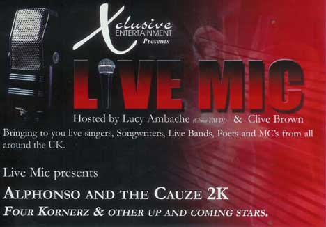 Xclsive Ents presents Live Mic